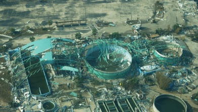 Oceanarium after Katrina